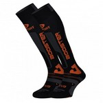 BV Sport - Chaussette de SKI SLIDE ELITE Compression Evolution  / Orange